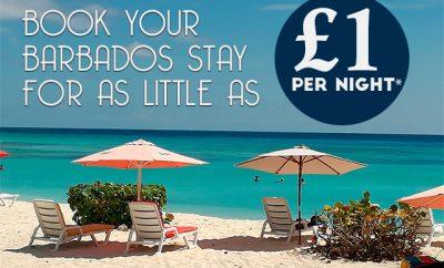 £1 per night Barbados Holiday Special