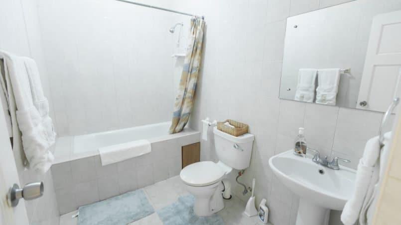 Bathroom Apt 5 Balcony Rock, Barbados