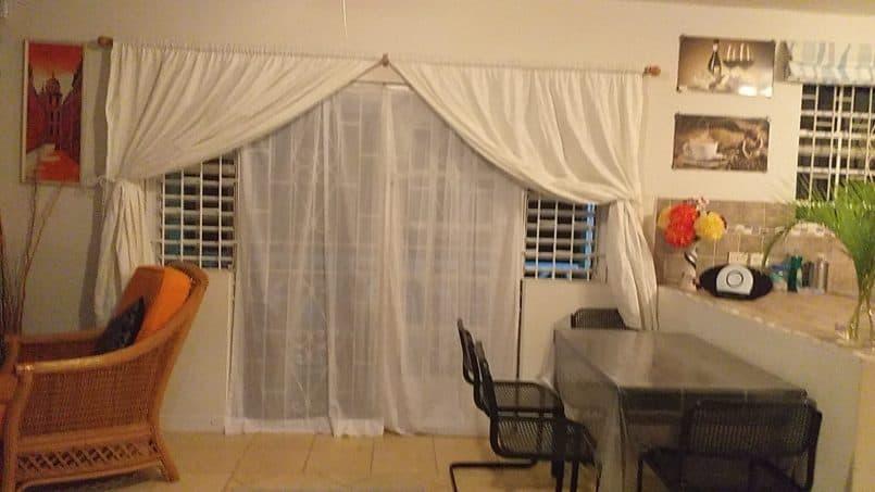 Dining Area Sea Coast Villa holidal letting in Barbados